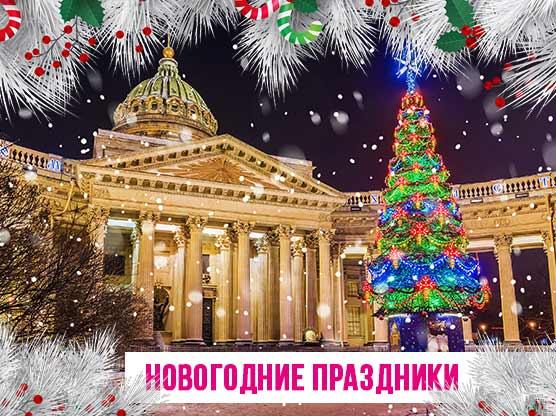 Экскурсии на новогодних праздниках в Санкт-Петербуоге